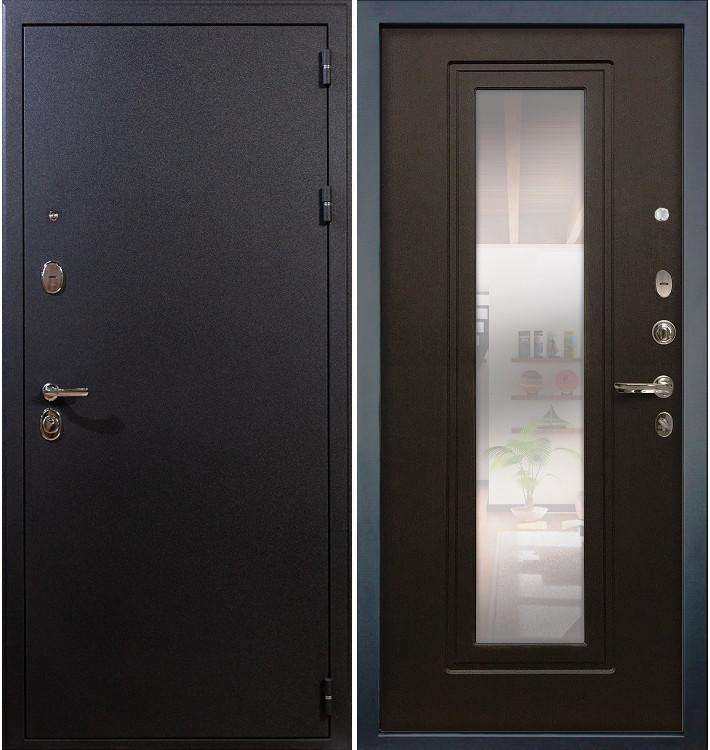 Входная дверь Рим / с зеркалом Венге (панель №22)