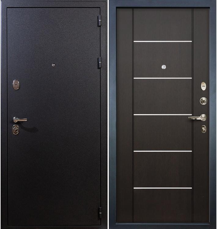 Входная дверь Рим / Венге (панель №24)