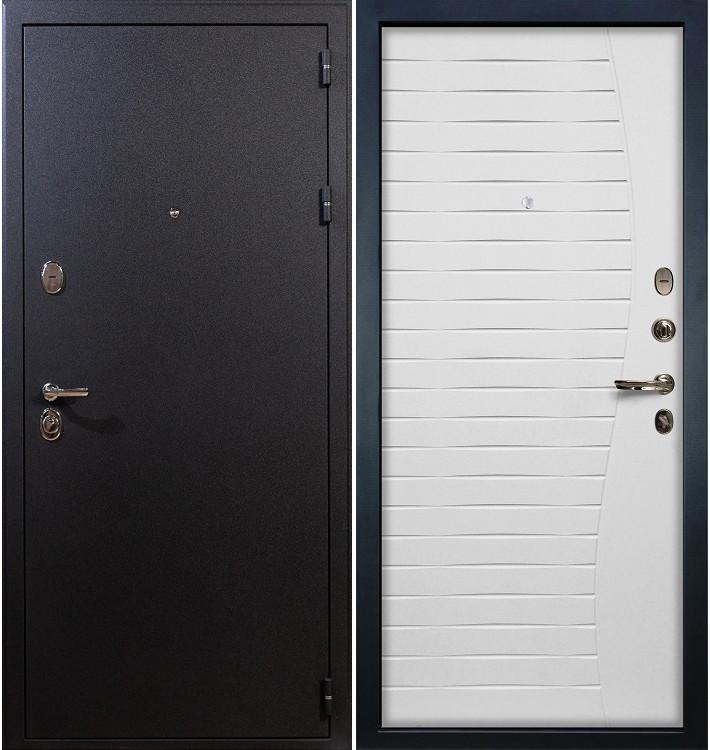 Входная дверь Рим / Волна Белый ясень (панель №36)