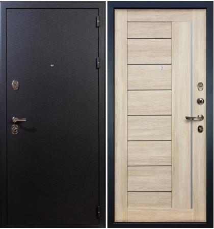 Входная дверь Рим / Верджиния Кремовый ясень (панель №40)