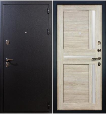 Входная дверь Рим / Баджио Кремовый ясень (панель №49)