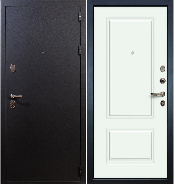 Входная дверь Рим / Вероника Белая эмаль (панель №55)