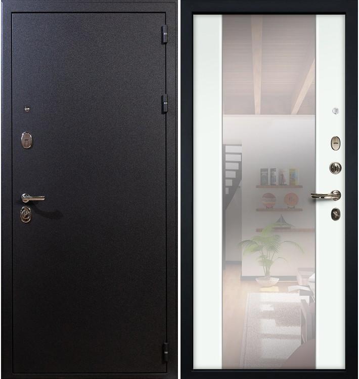 Входная дверь Рим / Стиль Белый экошпон (панель №61)