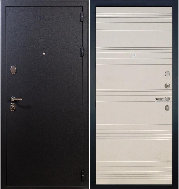 Входная дверь Рим / Дуб фактурный крем (панель №63)