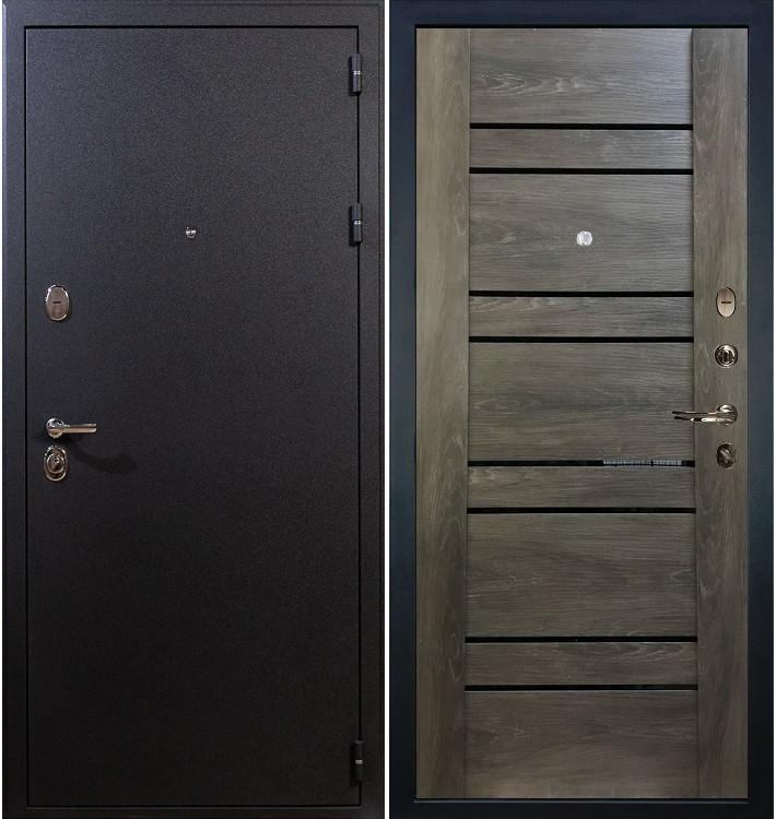 Входная дверь Рим / Терра Графит шале (панель №64)