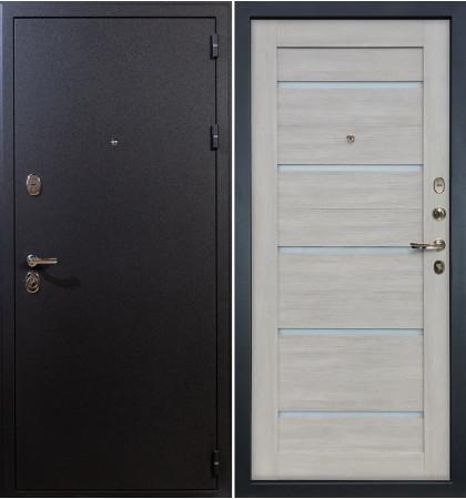 Входная дверь Рим / Клеопатра Ясень кремовый (панель №66)