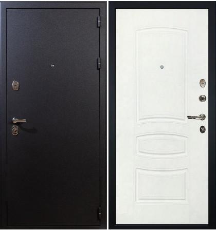 Входная дверь Рим / Белая шагрень (панель №68)