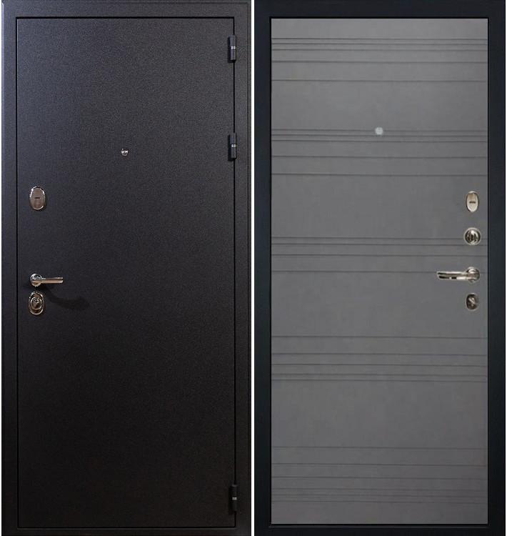 Входная дверь Рим / Графит софт (панель №70)