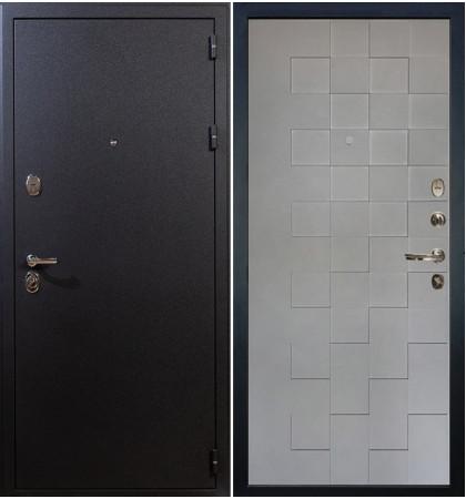 Входная дверь Рим / Квадро Графит софт (панель №72)