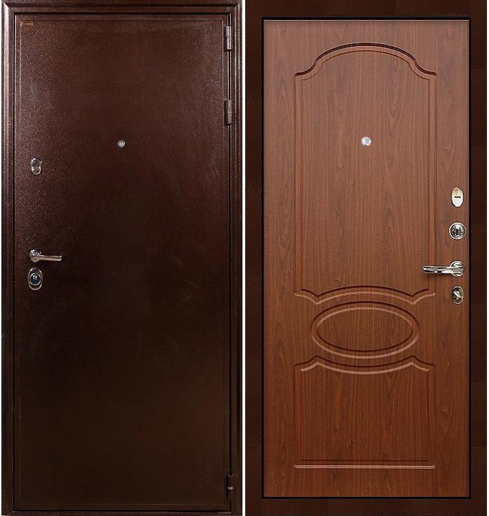 Входная дверь Цезарь 5А / Береза мореная (панель №12)