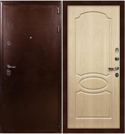 Входная дверь Цезарь 5А / Беленый дуб (панель №14)