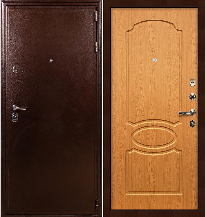 Входная дверь Цезарь 5А / Дуб натуральный (панель №15)