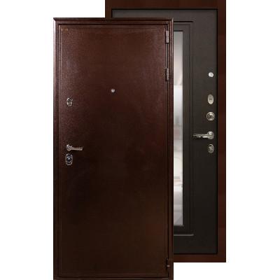 Входная дверь Лекс Цезарь 5А с зеркалом (Венге)