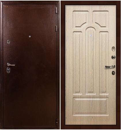 Входная дверь Цезарь 5А / Беленый дуб (панель №25)