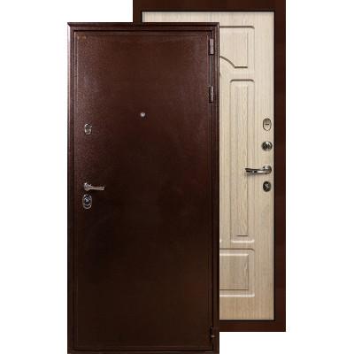 Входная дверь Лекс Цезарь 5А ФЛ-25 (Беленый дуб)