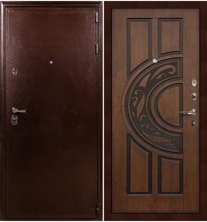Входная дверь Цезарь 5А / Голден патина (панель №27)