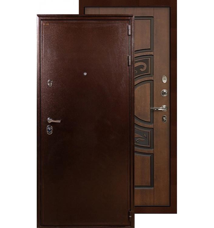 Входная дверь Лекс Цезарь 5А ФЛ-27 (Голден патина)