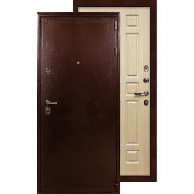 Входная дверь Лекс Цезарь 5А ФЛ-28 (Беленый дуб)