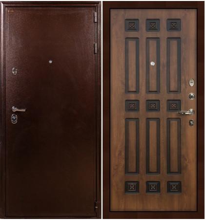 Входная дверь Цезарь 5А / Голден патина (панель №33)