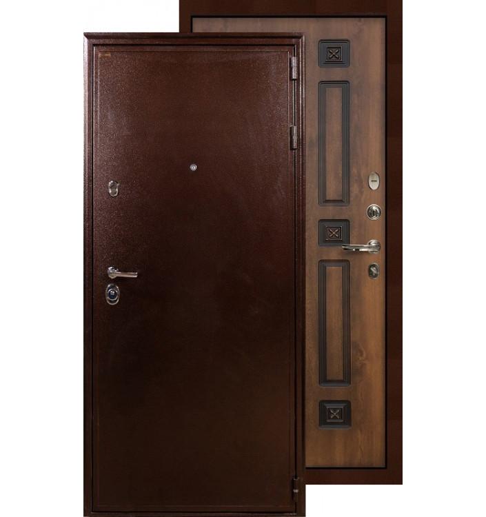 Входная дверь Лекс Цезарь 5А ФЛ-33 (Голден патина)