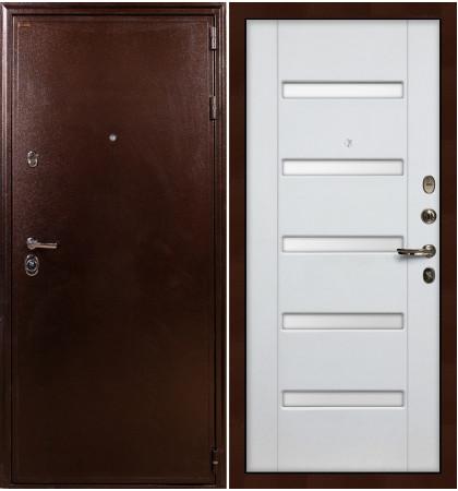 Входная дверь Цезарь 5А / Белый ясень (панель №34)