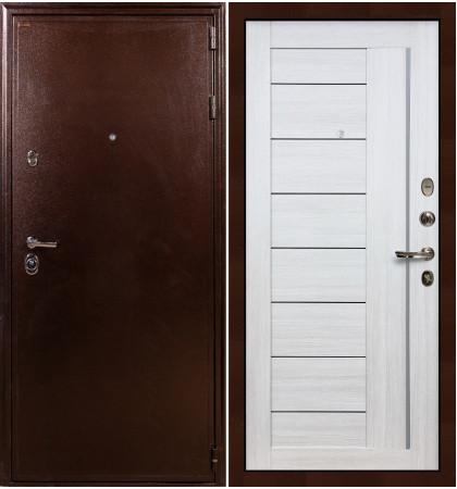 Входная дверь Цезарь 5А / Верджиния Беленый дуб (панель №38)