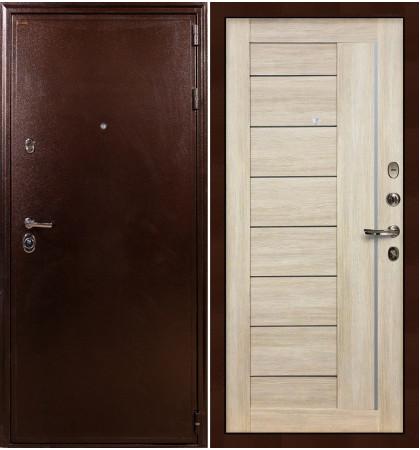 Входная дверь Цезарь 5А / Верджиния Кремовый ясень (панель №40)