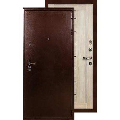Входная дверь Лекс Цезарь 5А Верджиния (Ясень кремовый)