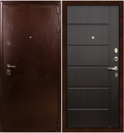 Входная дверь Цезарь 5А / Венге (панель №41)