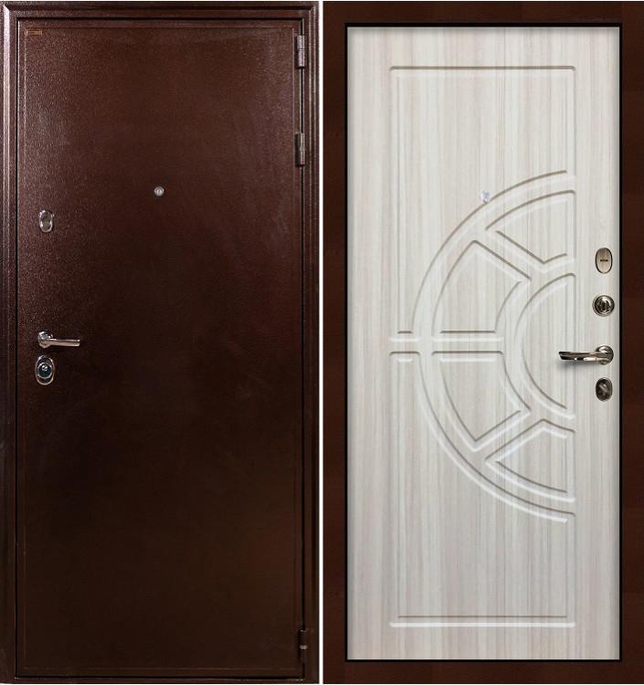 Входная дверь Лекс Цезарь 5А / Сандал белый (панель №44)