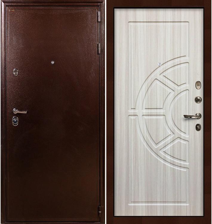 Входная дверь Цезарь 5А / Сандал белый (панель №44)