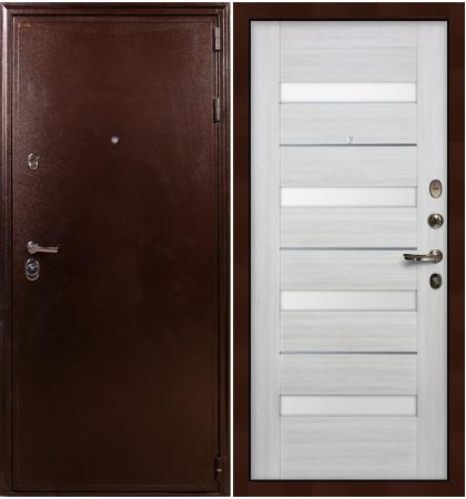 Входная дверь Цезарь 5А / Сицилио Беленый дуб (панель №46)