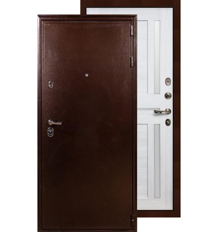 Входная дверь Лекс Цезарь 5А Баджио (Беленый дуб)