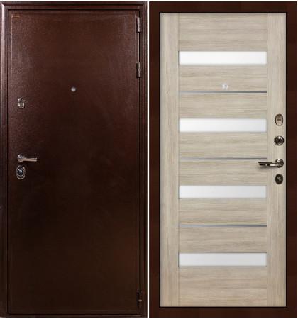 Входная дверь Цезарь 5А / Сицилио Ясень кремовый (панель №48)