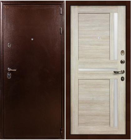 Входная дверь Цезарь 5А / Баджио Кремовый ясень (панель №49)
