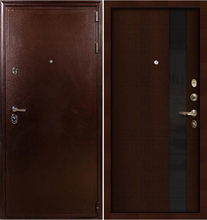 Входная дверь Лекс Цезарь 5А / Новита Венге (панель №53)