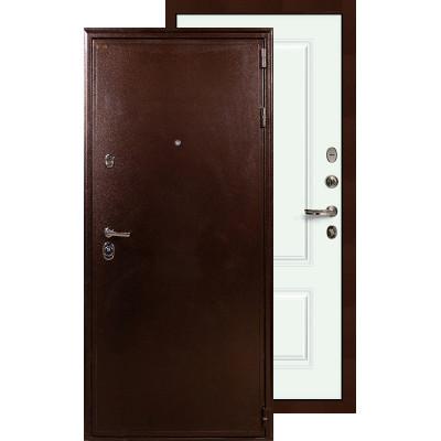 Входная дверь Лекс Цезарь 5А Вероника (Белая эмаль)