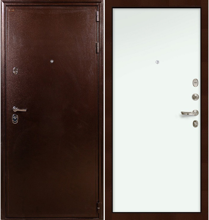 Входная дверь Цезарь 5А / Белый винорит (панель №59)