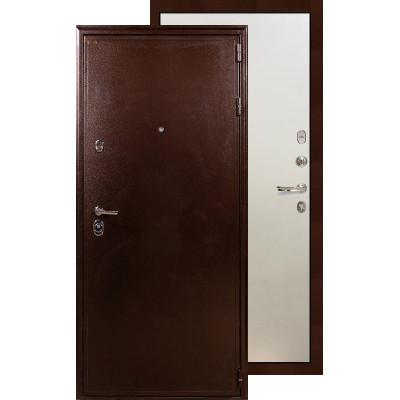 Входная дверь Лекс Цезарь 5А ФЛ-62 (Белый ясень)