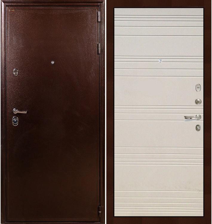 Входная дверь Цезарь 5А / Дуб фактурный крем (панель №63)