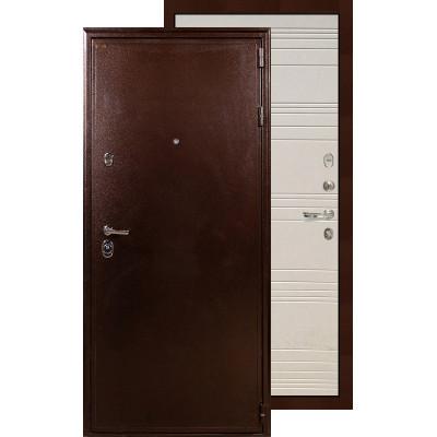 Входная дверь Лекс Цезарь 5А ФЛ-63 (Дуб фактурный крем)