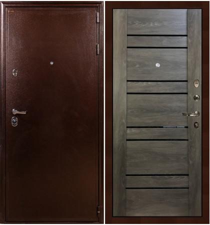 Входная дверь Цезарь 5А / Терра Графит шале (панель №64)