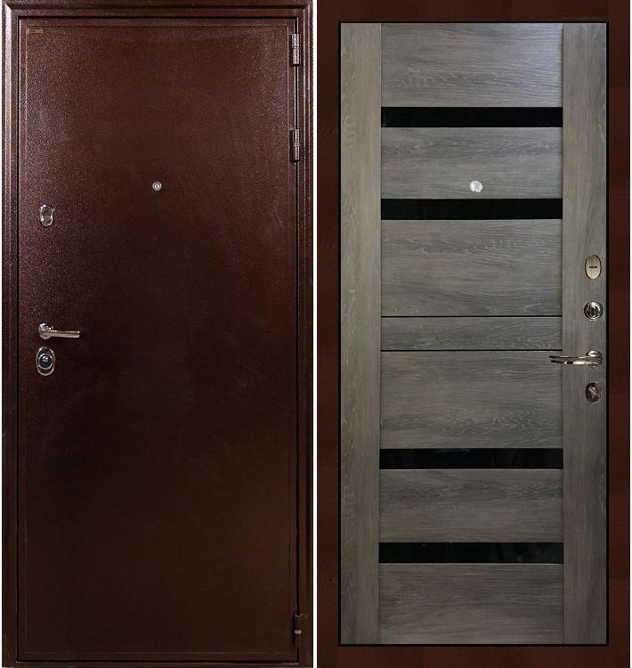 Входная дверь Цезарь 5А / Неро Графит шале (панель №65)