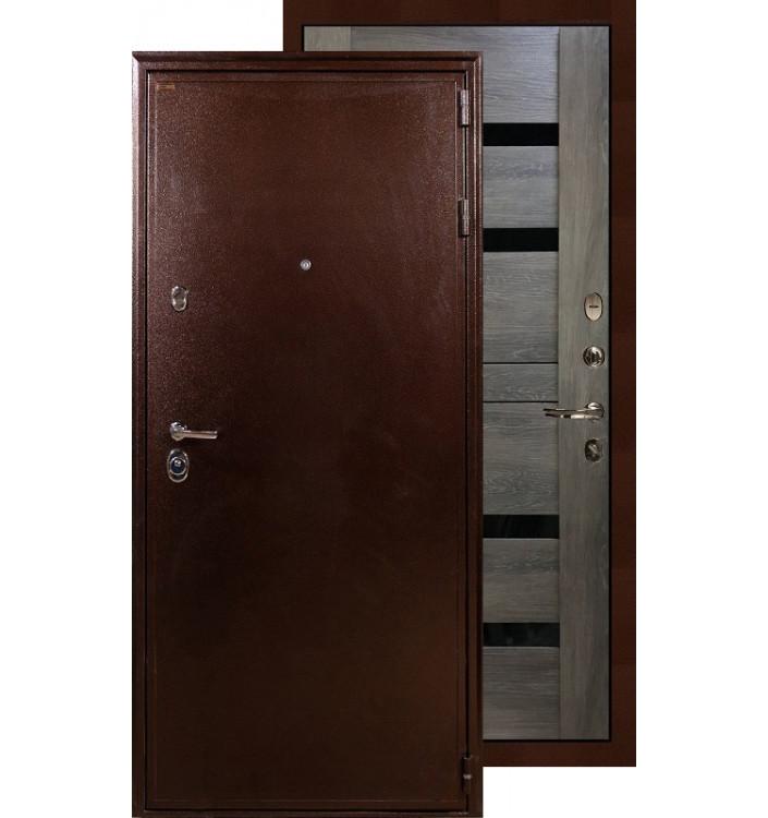 Входная дверь Лекс Цезарь 5А Неро (Графит шале)