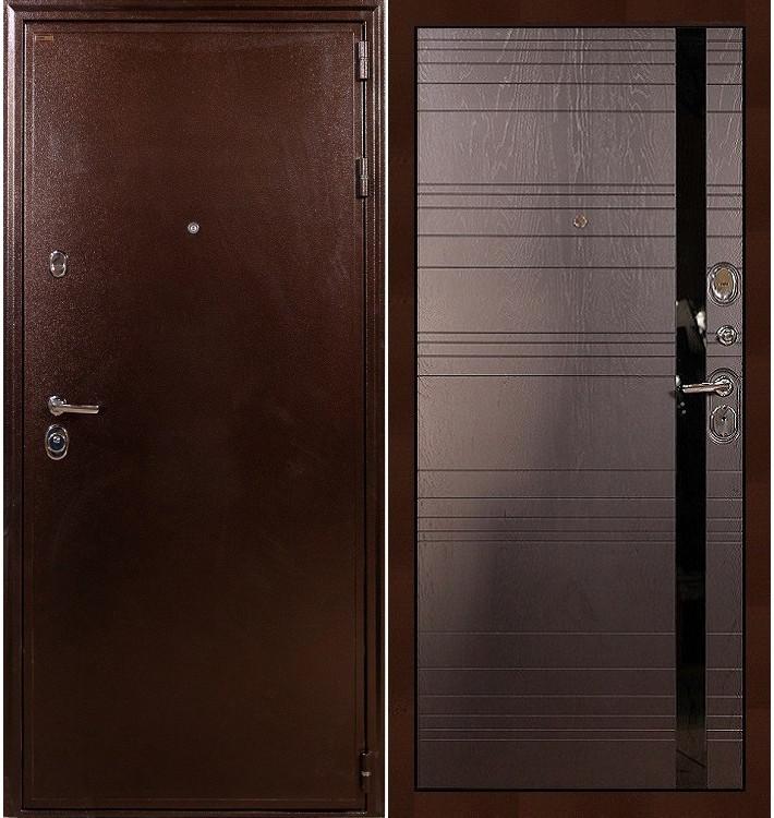 Входная дверь Цезарь 5А / Ясень шоколадный (панель №31)