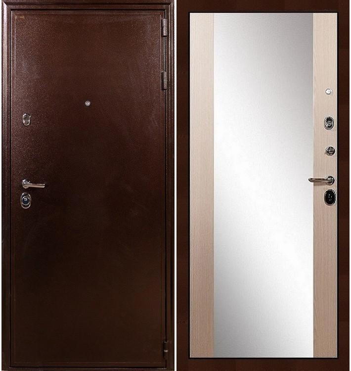 Входная дверь Цезарь 5А / Стиль Беленый дуб (панель №45)