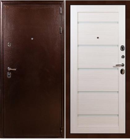 Входная дверь Цезарь 5А / Клеопатра Беленый дуб (панель №58)