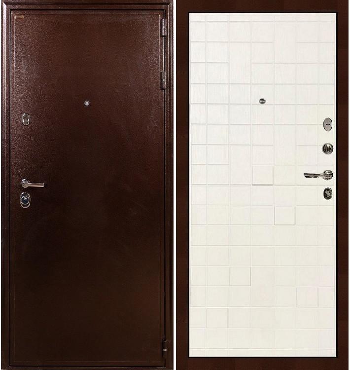 Входная дверь Цезарь 5А / Белый ясень (панель №56)