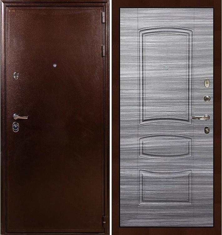 Входная дверь Цезарь 5А / Сандал серый (панель №69)