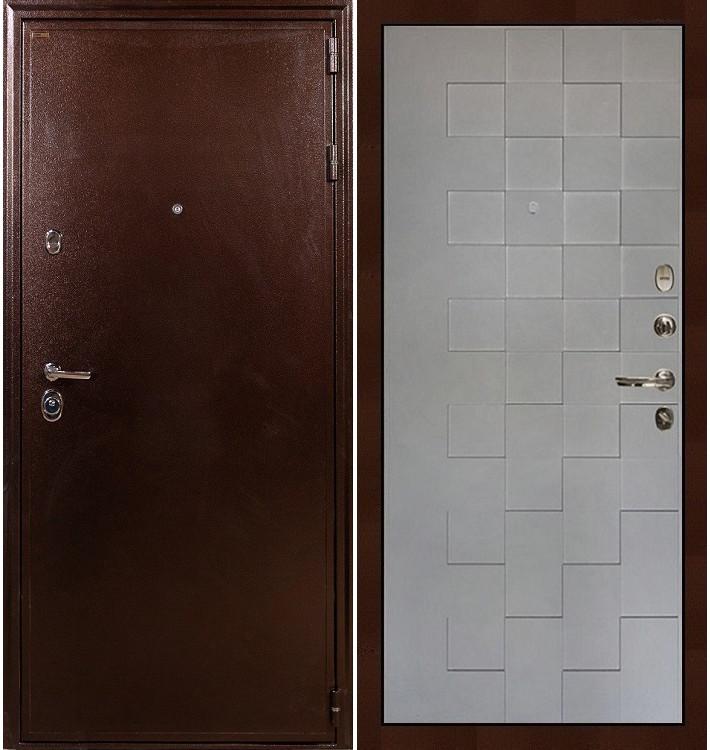 Входная дверь Цезарь 5А / Квадро Графит софт (панель №72)